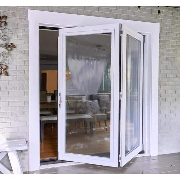 2 Panel Folding Patio Door Kit, How Much Are Accordion Patio Doors