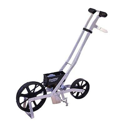 Adjustable Precision Garden Seeder and Tiller with 6-Seed Plates