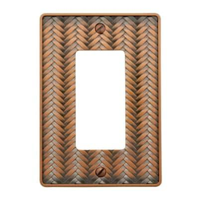 Copper 1-Gang Decorator/Rocker Wall Plate