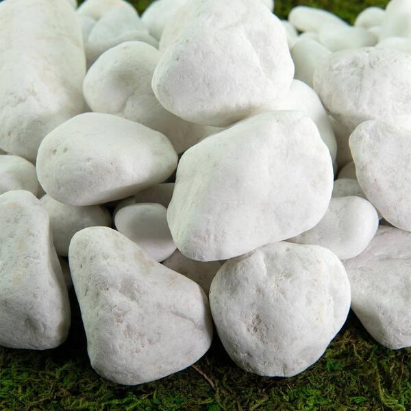 Southwest Boulder Stone 0 25 Cu Ft, White Garden Rocks Home Depot