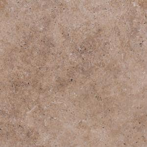 Mediterranean Walnut 16 in. x 16 in.Tan Travertine Paver Tile (60 Pieces/109.5 Sq. Ft./Pallet)
