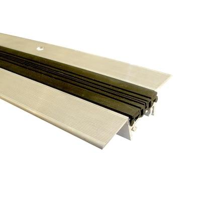 Novojunta Pro Anti-Slip Alum Black 1-3/4 in. x 98-1/2 in. Aluminum Expansion Joint