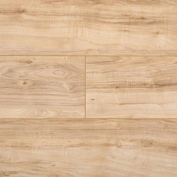Trafficmaster Natural Pecan 7 Mm Thick, Natural Laminate Flooring