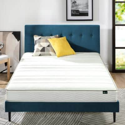 6 in. Medium Quilted Top Foam and Spring Mattress
