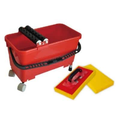 Tile Bucket Grout Clean-Up System includes 2 Sponges and Handle