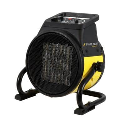 1500-Watt Portable Electric Space Heater with PVC Ceramic Heating Element and Cradle Base