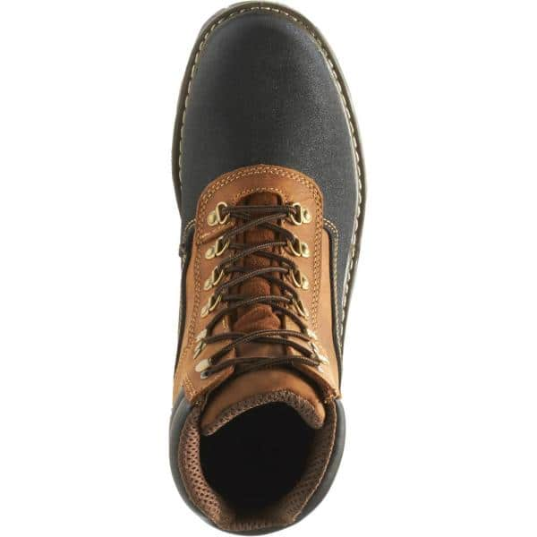 M Brown Size 10.5 Men/'S Corsair Waterproof 6 In Composite Toe Work Boots
