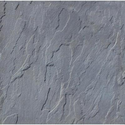 Patio-on-a-Pallet 12 in. x 12 in. Concrete Gray Traditional Yorkstone Paver (100 Pieces/100 Sq Ft)