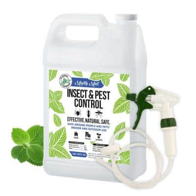 Gallon (128 oz.) Insect and Pest Control Peppermint Oil - Natural Spray for Spiders, Ants and More - Non Toxic