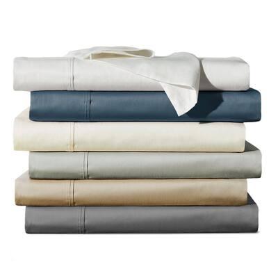 Viscose from Bamboo Sateen Sheet Set, White-Full