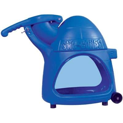 Cooler 8000 oz. Blue Countertop Snow Cone Machine