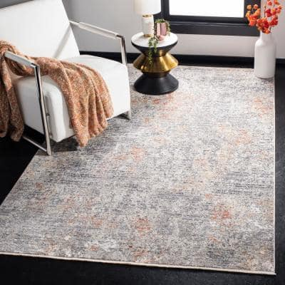 Dream Gray/Multi 8 ft. x 10 ft. Abstract Area Rug