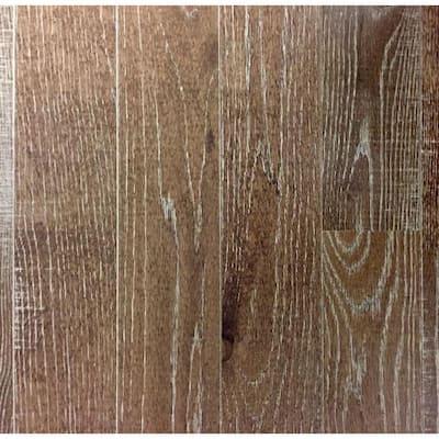 Take Home Sample - Band Sawn Desert Sand Red Oak Solid Hardwood Flooring - 5 in. x 7 in.