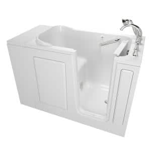 Exclusive Series 48 in. x 28 in. Right Hand Walk-In Soaking Tub with Quick Drain in White