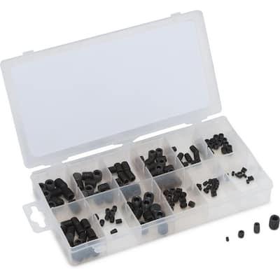 Socket Head Set Screw Assortment 160-Piece Metric