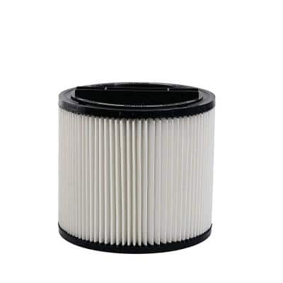 Wet/Dry Vacuum Replacement Cartridge Filter for ShopVac Models 5 Gal. and Up, Type U