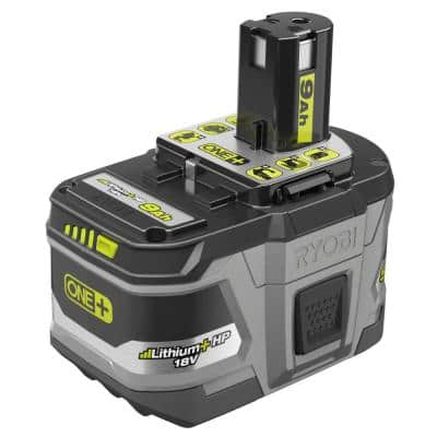 18-Volt ONE+ Lithium-Ion 9.0 Ah LITHIUM+ HP High Capacity Battery