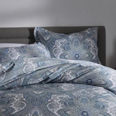 Legends Hotel Triomphe Paisley Wrinkle-Free Sateen Duvet Cover