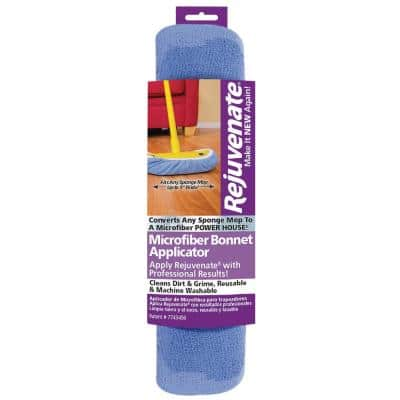 Microfiber Bonnet Applicator Wet Mop Pad Refill