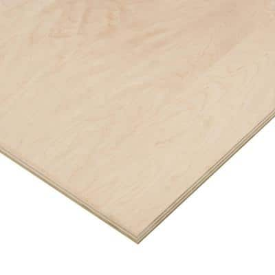 3/4 in. x 2 ft. x 4 ft. PureBond Maple Plywood Project Panel (Free Custom Cut Available)