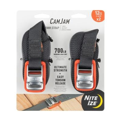 CamJam 12 ft. Tie Down Strap (2-Pack)
