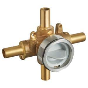 Flash Shower Rough-In Valve with Stub-Outs