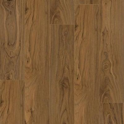 Take Home Sample - Dewitt Walnut SPC Waterproof Vinyl Plank Flooring- 5 in. x 7 in.