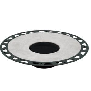 Kerdi-Drain 11-13/16 in. ABS Flange Kit With 3 in. Outlet