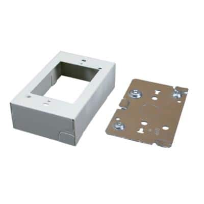 Wiremold 500 and 700 Series 1-Gang Surface Raceway Device Box