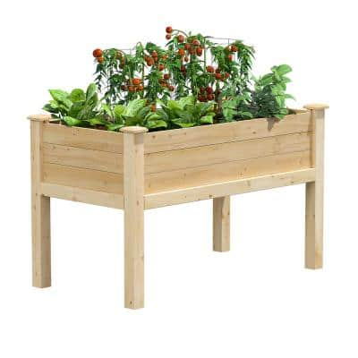 48 in. L x 24 in. W x 31 in. H Original Cedar Elevated Garden Bed