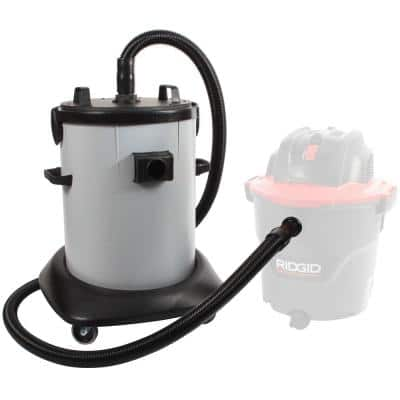 20 Gal. Dry Commercial Vacuum Dust Collector with Fleece Basket Filter and 8 ft. Hose