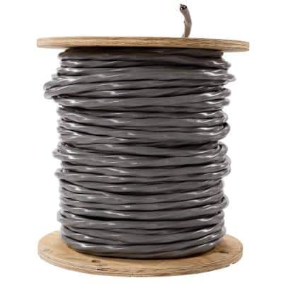 500 ft. 3-3-3-5 Gray Standed CU SER Cable