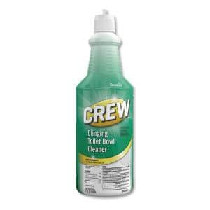 Crew Clinging 32 oz. Fresh Scent Toilet Bowl Cleaner Squeeze Bottle (6-Pack)