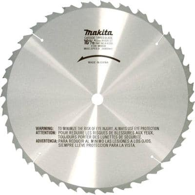 16-5/16 in. x 1 in. 32-Teeth Carbide-Tipped Blade For Use with Circular Saws