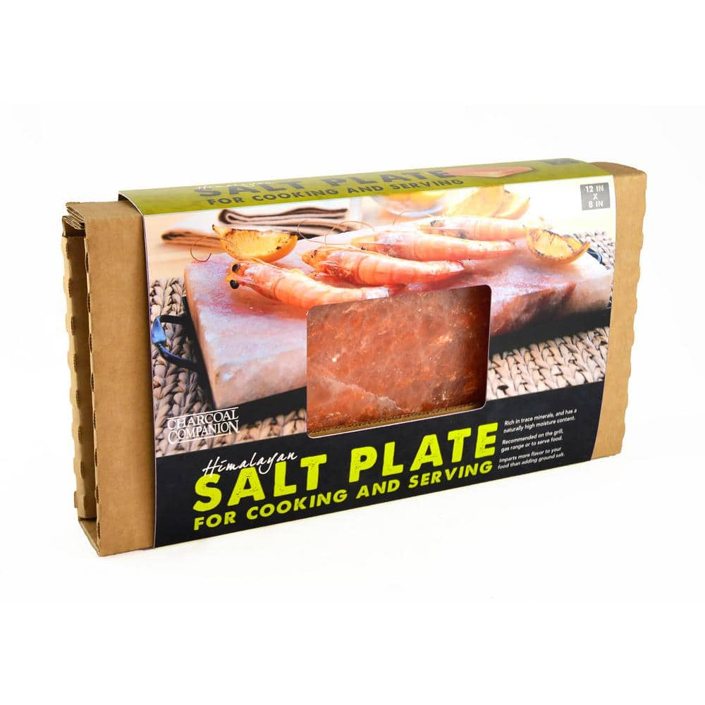 Charcoal Companion Himalayan Salt Plate Cc6036 The Home Depot