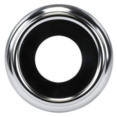 Metal Tub Spout Ring in Polished Chrome
