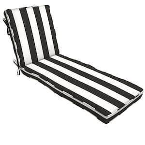 22 x 74 Sunbrella Cabana Classic Outdoor Chaise Lounge Cushion