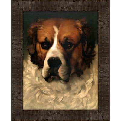 Portrait of Merchant Prince Framed Giclee Dog Art Print 17 in. x 21 in.