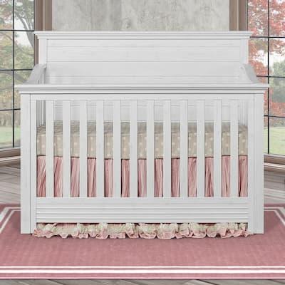 Waverly Weathered White 5 in 1 Convertible Crib