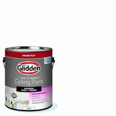 1 gal. Bright White Interior Flat EZ Track Ceiling Paint