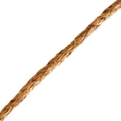 1/2 in. x 1 ft. Manila Twist Rope, Natural