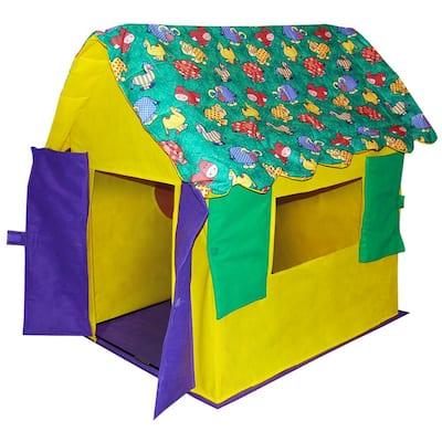 Stuffed Animal Kid's Cottage