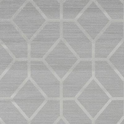 Asscher Geo Beige Unpasted Removable Strippable Vinyl Wallpaper