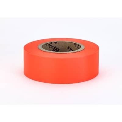 1-3/16 in. x 150 ft. Glo-Orange Surveyor Grade ULTRA Flagging Tape (Pack of 24)