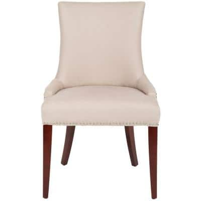 Becca Taupe Linen Dining Chair