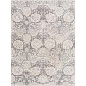 Valdes Gray 9 ft. x 12 ft. 3 in. Area Rug