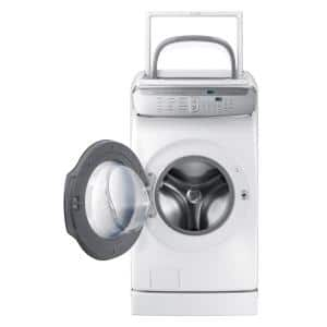 6.0 Total cu. ft. High-Efficiency FlexWash Washer in White