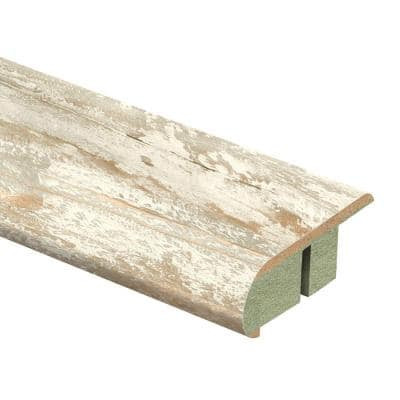 Coastal Pine 3/4 in. Thick x 2-1/8 in. Wide x 94 in. Length Laminate Stair Nose Molding