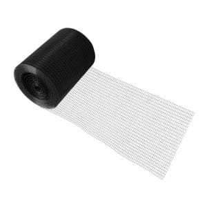 4 ft. x 50 ft. 16-Gauge Black PVC Coated Welded Wire Fence with Mesh Size 1/2 in. x 1 in.