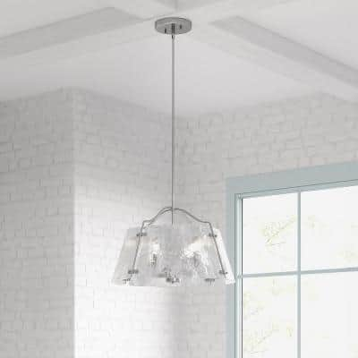 Archdale 5-Light Brushed Nickel Chandelier